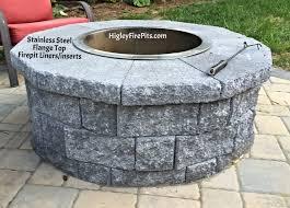 Firepit Liner Luxury Steel Pit Ring Insert 36 Diameter X 14
