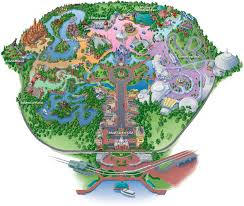 Walt Disney World Maps by Map To Find All The Attractions At The Magic Kingdom At Disney