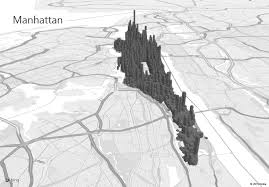 map for exploring manhattan with power map for excel office blogs