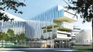 sfr siege social sfr headquarters jean paul viguier architecture archdaily