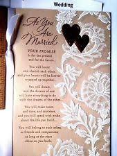 Wedding Wishes Hallmark Wedding Greeting Cards Ebay