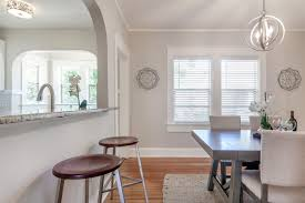 Bungalow Dining Room Industrial Rustic Feel In This 1940s Restored Bungalow