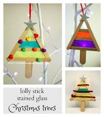 sun hats wellie boots lolly stick stained glass tree
