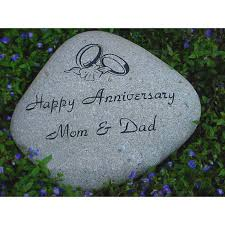 personalized memorial stones personalized memorial garden river rock