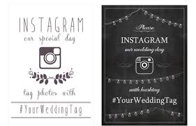 wedding quotes hashtags 17 ways to collect your guests wedding photos instagram wedding