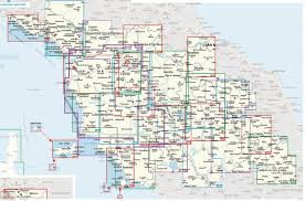 Tuscany Map 2440 Tuscany Hiking Maps Nostromoweb