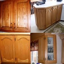 retaper armoire de cuisine armoires de cuisine en chêne nous les remettons a neuf rénover sa