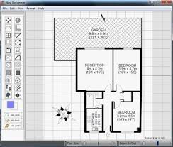 draw simple floor plans free stunning creative backyard by draw