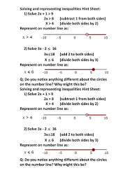 cryptic inequalities by ptarmigan teaching resources tes