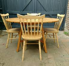 Effezeta Chairs by Ercol Pine Table And Farmhouse Chairs In Worthing West Sussex