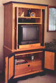 Armoire Furniture Plans Pine Armoire Entertainment Center Plan Downloadable