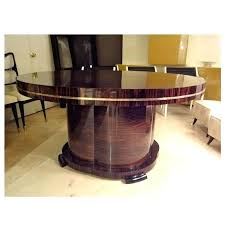 dining table art deco round dining room table french furniture