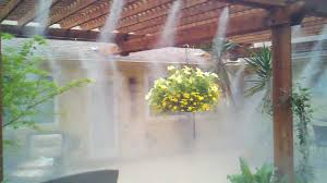 Best Patio Misting System High Pressure Patio Misting By Mistcooling Com Youtube