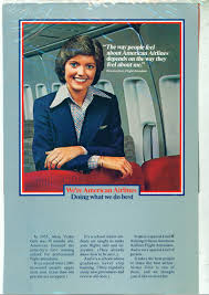 american airlines ad victoria getz flight attendant american