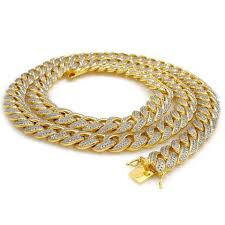 gold necklace hip hop images Gold necklaces chains on sale at niv 39 s bling jpg