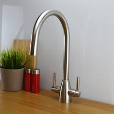 ENKI Contemporary Designer Kitchen Sink Mixer Tap Monobloc Solid - Brass kitchen sinks