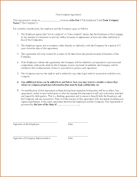 non compete agreement sample 8201595 png letter template word