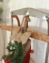a vintage christmas entryway little vintage nest