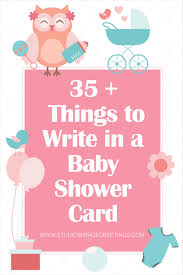 what can i write in a baby shower card gallery baby shower ideas