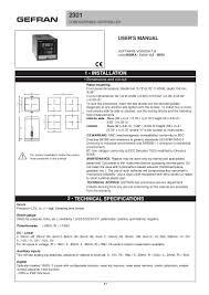 2301 manual v7 0 80384 a 1 gefran