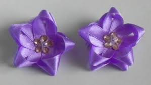 flower bow how to diy easy ribbon flower bow
