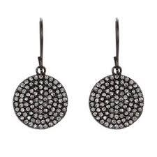 rebel earrings rebel designs leather swarovski nyc chic jewelry sheva