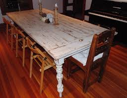 reclaimed wood farmhouse table hand crafted reclaimed wood french country farmhouse table by