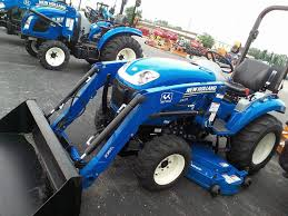 2016 new holland agriculture boomer compact series 24 for sale