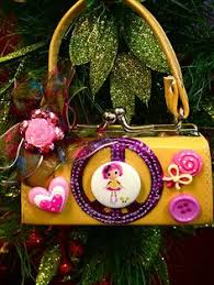 merry lalaloopsy ornament and dolls