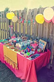 Carnival Themed Table Decorations Prize Booth Ideas Might Be Better Than A Treasure Chest Daddy