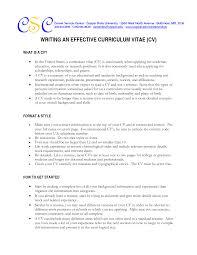 Professional Curriculum Vitae Samples Curriculum Vitae Template Jvwithmenow Com