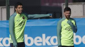 barcelona athletic teams messi neymar start suarez on bench