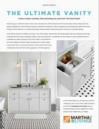 design your vanity home depot the martha stewart living bath collections at the home depot the
