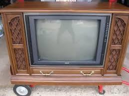 rca victor tv cabinet value rca console tv ebay