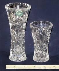 Vintage Lenox Crystal Star Bud Vase Lenox Shooting Star Full Lead Crystal Vase 14