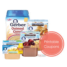food coupons new gerber baby food coupons store deal ideas