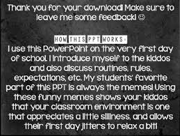 First Day Of School Funny Memes - memes to go over classroom rules first day of school powerpoint