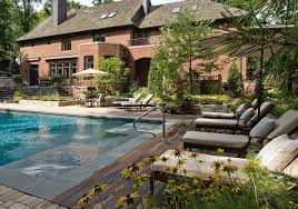 wonderful backyard swimming pool with swim spa diy pools saltwater