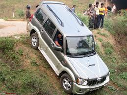 scorpio car new model 2013 marengo rocky beige mahindra scorpio mhawk 4wd mld 4 years 1