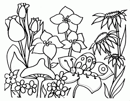 flower garden coloring pages new coloring pages coloring home