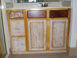 Oak Bathroom Furniture Refinishing Oak Bathroom Cabinets With White And Dark Espresso