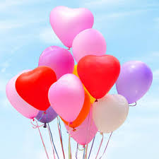 20pcs love heart shape balloon balloons romantic valentine