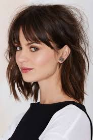 medium length hairstyles front and back with bangs best 25 bob with fringe bangs ideas on pinterest medium bob
