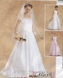 wedding dress patterns to sew sewing patterns women s wedding formal