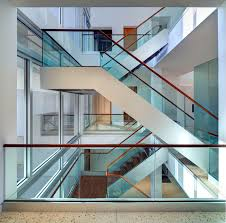 Wood Glass Stairs Design Glass And Wood Railings Houzz
