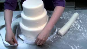 beautiful easy to make wedding cake youtube