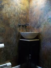 bathroom faux paint ideas metallic paint effects on walls artists dining room faux finish