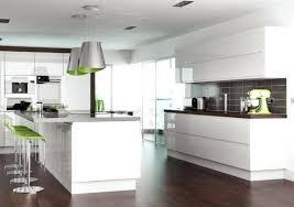 cuisine blanche avec ilot central cuisine blanche design cethosia me