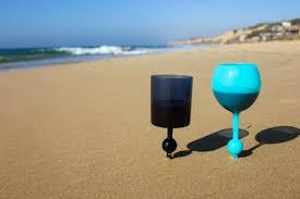 beach of glass the beach glass outdoor drinkware