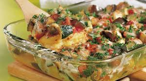 cuisine polenta ratatouille polenta bake recipe bettycrocker com